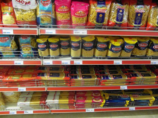 Ceny w albańskim sklepie